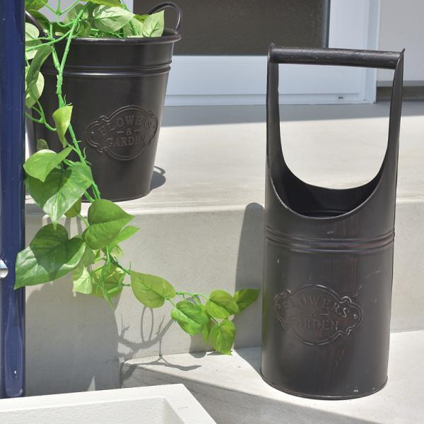 バケツ ガーデン用品 ティンラック 水汲み 植木鉢 園芸用品|usagi-shop