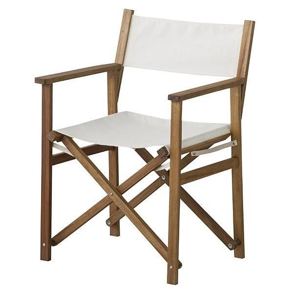 折りたたみチェア アウトドア キャンプ ディレクターズチェア 椅子 チェアー ガーデンチェア 天然木 オイル仕上げ