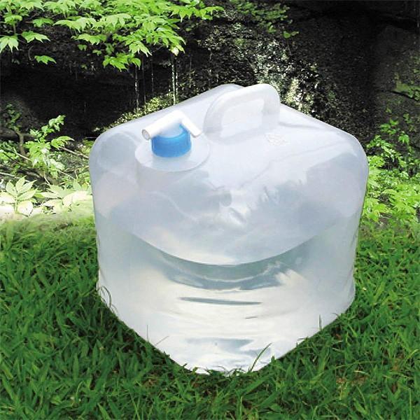 水タンク ポリタンク 水ポリタンク 20L 10L 災害 避難所 手洗い場 キャンプ アウトドア 折りたたみ 折り畳み 折畳み|usagi-shop|04
