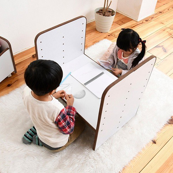 子供用机 勉強机 デスク 高さ調節 変更 安全 幼稚園児 保育園 小学校 低学年 キッズ 子ども用|usagi-shop|14