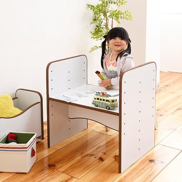 子供用机 勉強机 デスク 高さ調節 変更 安全 幼稚園児 保育園 小学校 低学年 キッズ 子ども用|usagi-shop|15