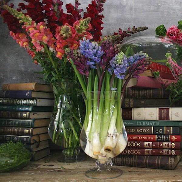 ガラスベース 花瓶 花器 フラワーベース 花 枝|usagi-shop
