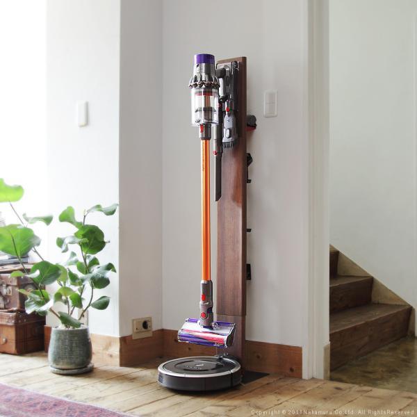 掃除機スタンド ダイソン スティッククリーナースタンド 掃除機ラック 収納ラック dyson V10 V8 V7 V6 DC35 DC45 DC62 DC74 ルンバ iRobot RULO minimaru