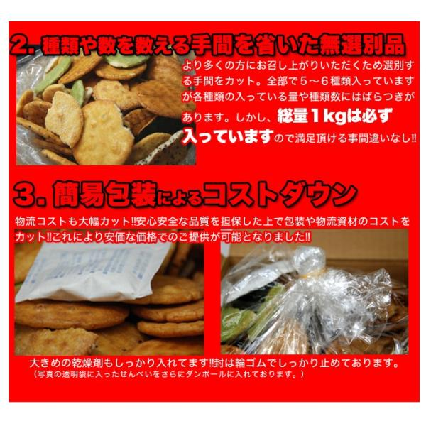 草加せんべい 訳あり 草加煎餅 割れ お試しセット|usagi-shop|05