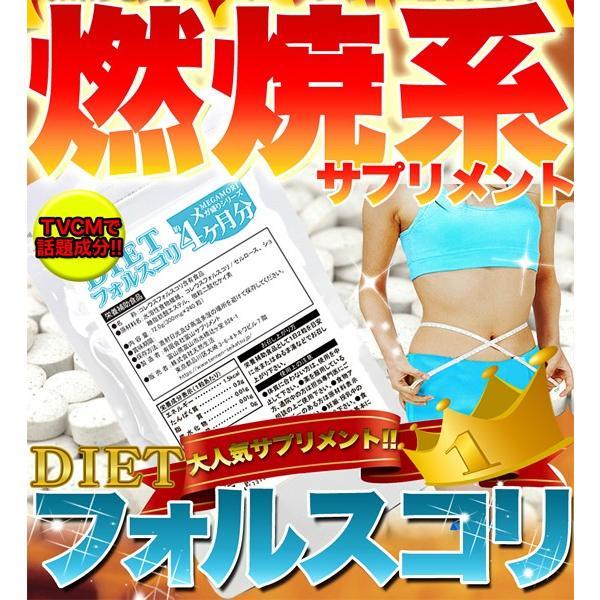 フォースコリー 国産 日本製 ダイエット サプリメント 安全 痩せ 効果 体脂肪 フォルスコリ 健康 4ヶ月 120日分 送料無料 ポイント消化|usagi-shop|02