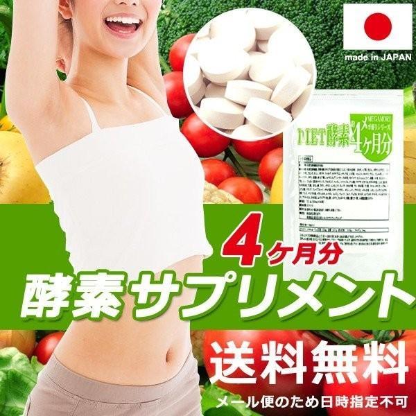 【プレミアム会員は本日P10倍】 酵素ダイエット サプリメント 国産 酵素サプリ 栄養バランス 健康 食生活 美容 日本製 送料無料 メール便 ポイント消化|usagi-shop