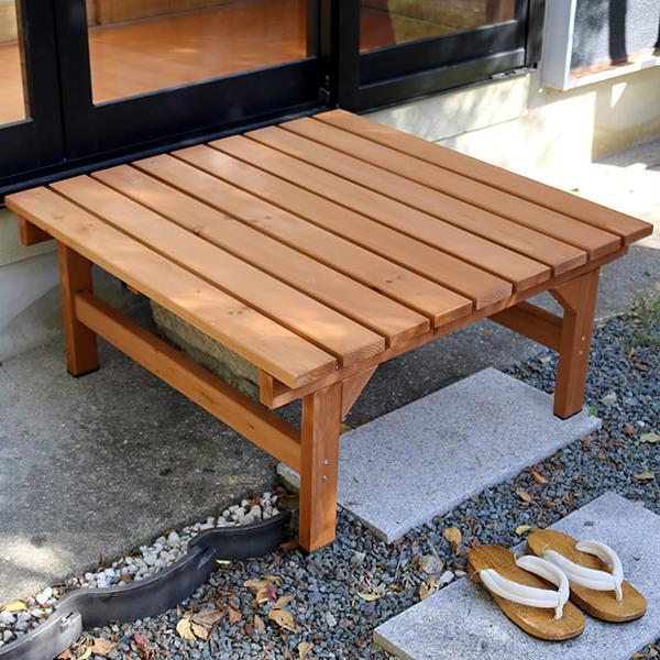 ベンチ 腰掛け 屋外 おしゃれ 木製 庭 ガーデニング 縁台 縁側 デッキ 庭先 椅子 軒先 玄関 エントランス