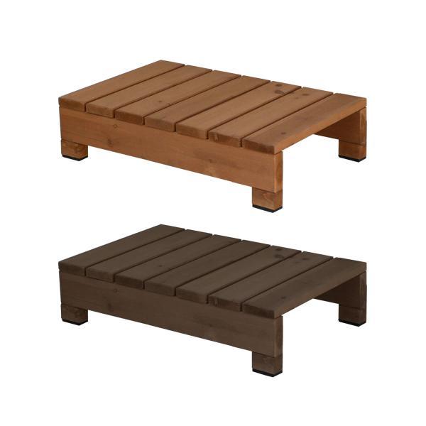 ステップ台 ステップ 屋外 おしゃれ 木製 庭 ガーデニング 縁台 縁側 デッキ 庭先 軒先 玄関 エントランス