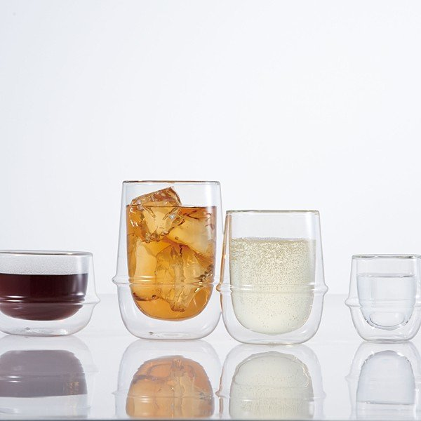 グラス ガラス おしゃれ 二重構造 耐熱ガラス スタイリッシュ コップ|usagi-shop|03