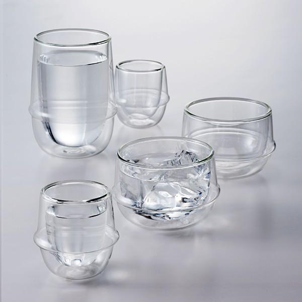 グラス ガラス おしゃれ 二重構造 耐熱ガラス スタイリッシュ コップ|usagi-shop|05