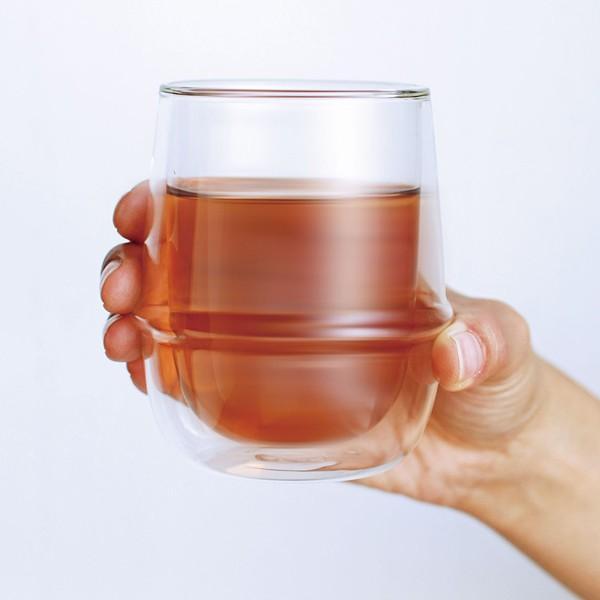 グラス ガラス おしゃれ 二重構造 耐熱ガラス スタイリッシュ コップ|usagi-shop|06