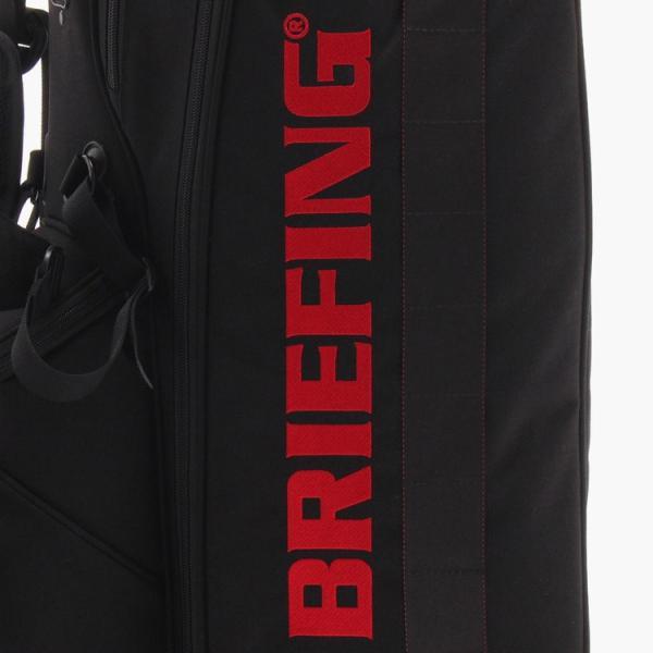 [BRIEFING x Snell] Snellロゴ入りBRIEFING(ブリーフィング)スタンドバッグ 8.5インチ usagolfstore 15