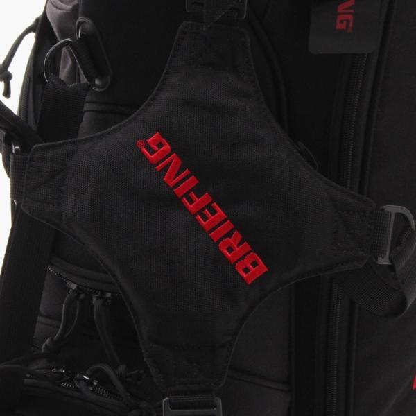 [BRIEFING x Snell] Snellロゴ入りBRIEFING(ブリーフィング)スタンドバッグ 8.5インチ usagolfstore 08