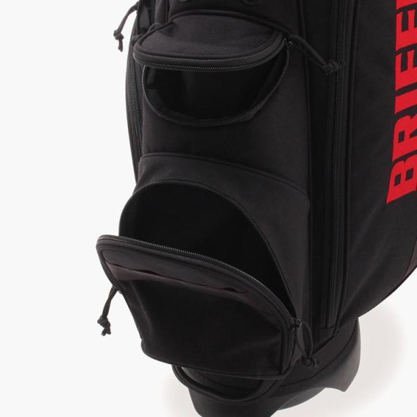 [BRIEFING x Snell] Snellロゴ入りBRIEFING(ブリーフィング)スタンドバッグ 8.5インチ usagolfstore 10