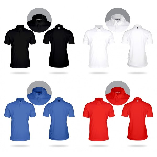 Snell ロゴ入りメンズポロシャツ FENIXブランドとのコラボレーション 吸汗速乾・UVカット|usagolfstore