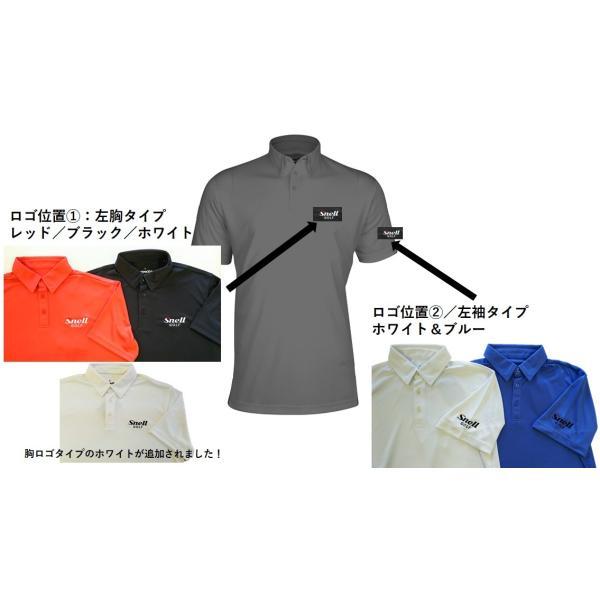 Snell ロゴ入りメンズポロシャツ FENIXブランドとのコラボレーション 吸汗速乾・UVカット|usagolfstore|02