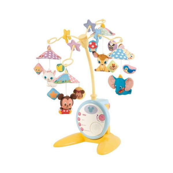 ディズニーキャラクターズ やわらかガラガラメリーデラックス タカラトミー 847793 おもちゃ メリー  【送料無料(北海道、沖縄、離島は配送不可)】