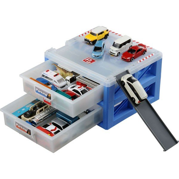 トミカワールドパーキングケース24494775タカラトミートミカ収納ケースミニカー車おもちゃ (北海道沖縄離島は配送不可)