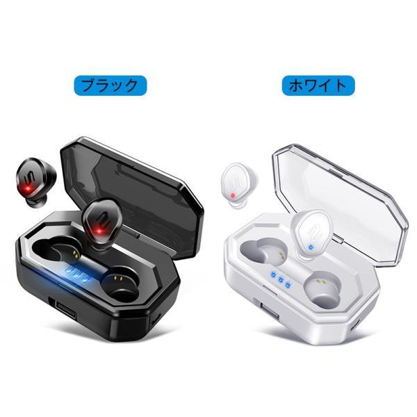 Bluetooth イヤホン 自動ペアリング Bluetooth5.0 ワイヤレスイヤホン タッチ型 高音質 IPX7防水 ブルートゥース イヤホン 完全ワイヤレス 両耳 左右分離型|usamdirect|14