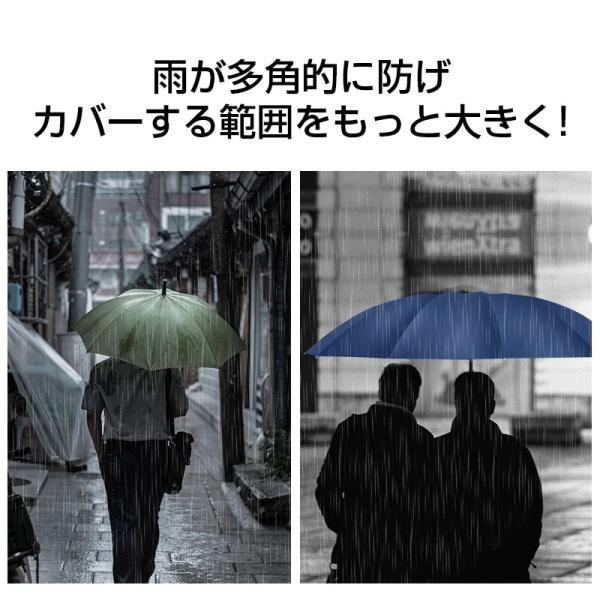 折りたたみ傘 12本骨 自動開閉 逆さ傘 大きい 逆さま傘 メンズ レディース 耐風 折り畳み傘 男女兼用 ワンタッチ 折れにくい 濡れない 晴雨兼用 遮光 撥水|usamdirect|11
