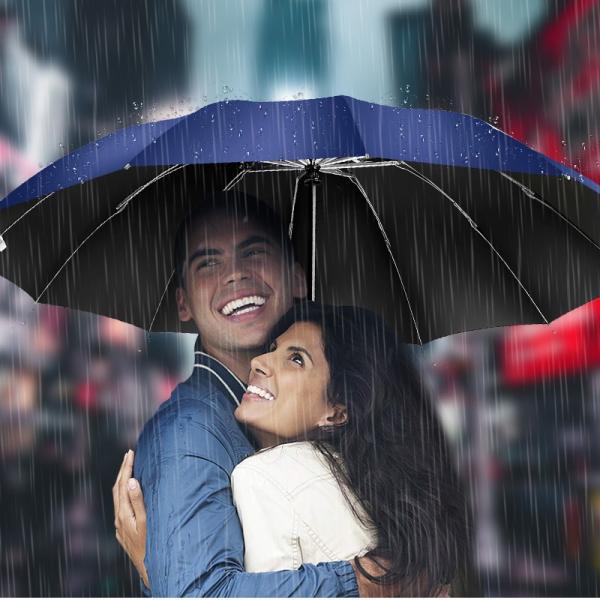折りたたみ傘 12本骨 自動開閉 逆さ傘 大きい 逆さま傘 メンズ レディース 耐風 折り畳み傘 男女兼用 ワンタッチ 折れにくい 濡れない 晴雨兼用 遮光 撥水|usamdirect|10
