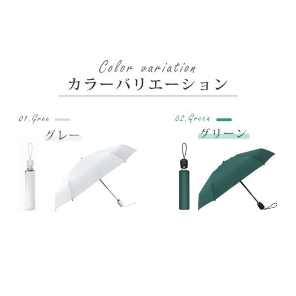 日傘 完全遮光 折りたたみ uvカット 傘 8本骨 レディース ワンタッチ 雨傘 晴雨兼用 遮光 折りたたみ傘 自動開閉 晴雨傘 折れにくい 濡れない 遮熱 耐風|usamdirect|03