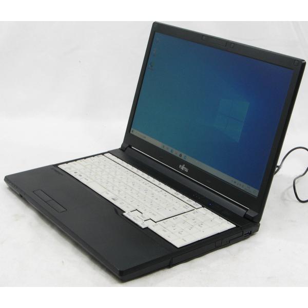 ノートパソコン中古富士通LifebookA576/NFMVA1203Eメモリ4GBHDD320GBWindows10