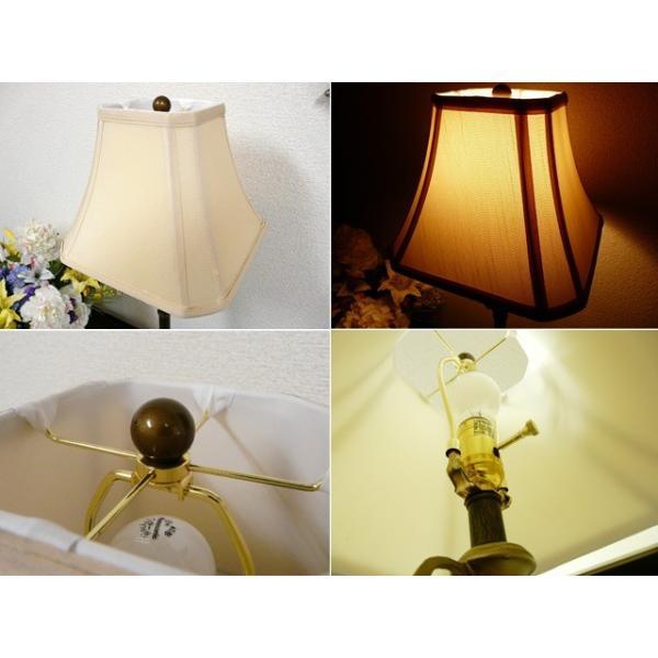 訳あり品 ランプ ライト スタンドライト アンティーク 照明 シェード おしゃれ バフェランプ BO2250BF/2 CAL lighting usf 06