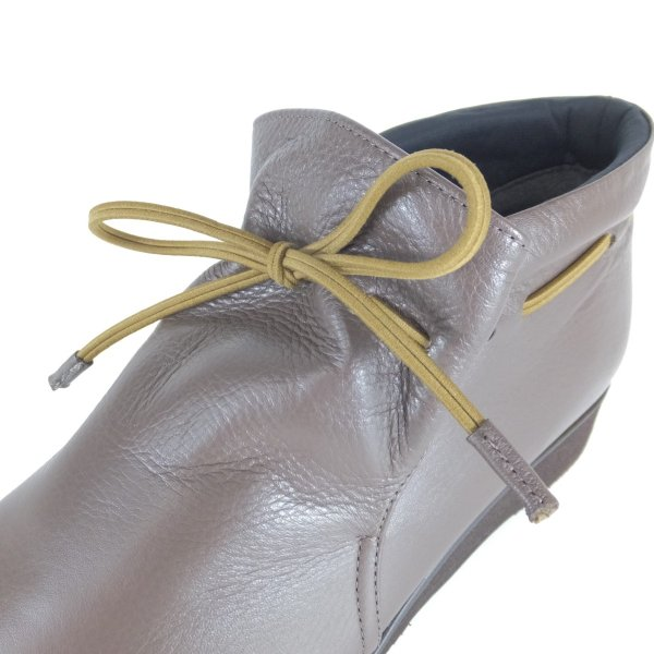 Fizzreen FIZZ REEN フィズリーン 靴 2221 ダークオーク ショートブーツ スリッポン ゴム紐 柔らかい革 軽いブーツ 履きやすいブーツ 大きいサイズ 小さいサイズ|ushijima4192ya3des-1|05