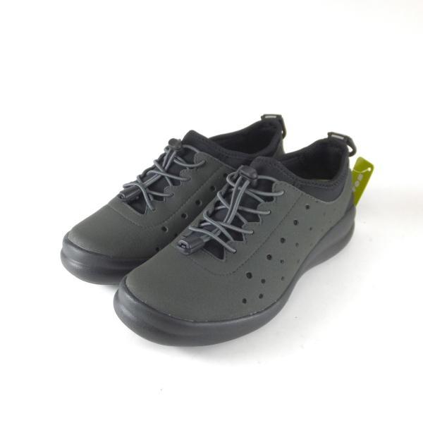 アキレスソルボ 047 フォートゥースリーデザインズ CUD0470 チャコール スニーカー ゴム紐 ストレッチ 軽い靴 歩きやすい靴 レディース 小さい〜大きいサイズ|ushijima4192ya3des-1|02