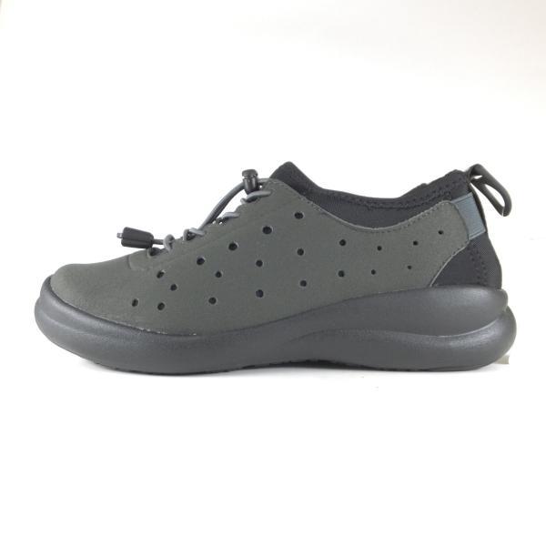 アキレスソルボ 047 フォートゥースリーデザインズ CUD0470 チャコール スニーカー ゴム紐 ストレッチ 軽い靴 歩きやすい靴 レディース 小さい〜大きいサイズ|ushijima4192ya3des-1|03