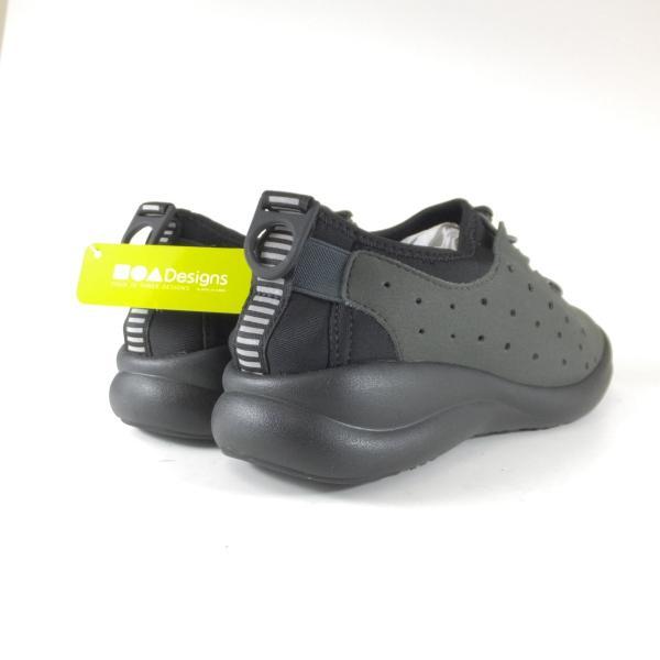 アキレスソルボ 047 フォートゥースリーデザインズ CUD0470 チャコール スニーカー ゴム紐 ストレッチ 軽い靴 歩きやすい靴 レディース 小さい〜大きいサイズ|ushijima4192ya3des-1|04