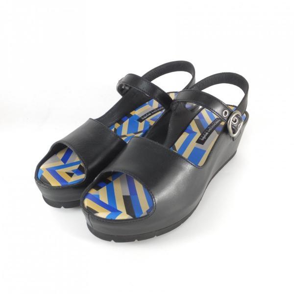 ラボキゴシ ワークス サンダル RABOKIGOSHI works 靴 12179 ジオメトリック ストームサンダル 厚底サンダル レディース プラットフォームサンダル 履きやすい靴
