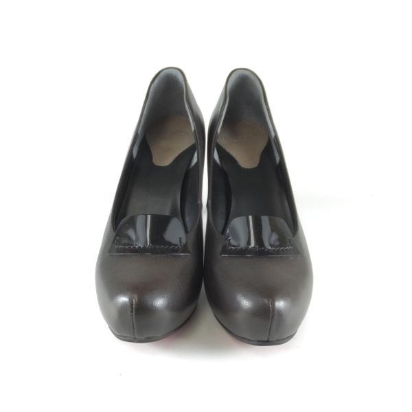 INDIVIDUAL インディヴィジュアル インディビジュアル ラボキゴシ 靴 6053 ORK パンプス ストーム バックル レッドソール ヒール 痛くないパンプス 小さいサイズ