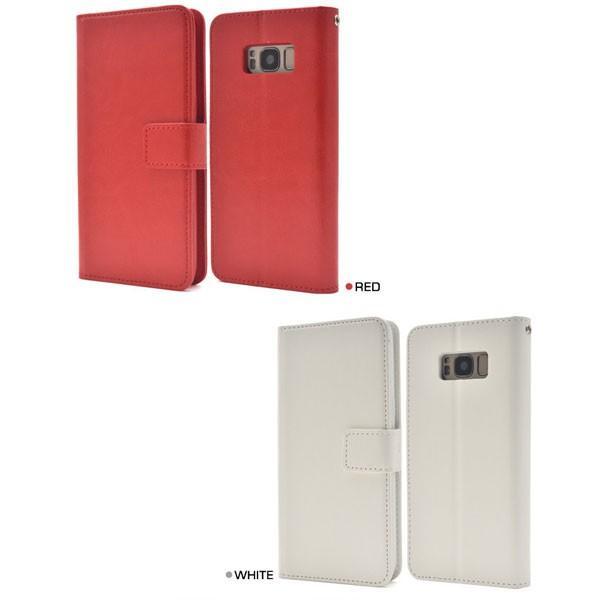 Galaxy S8 SC-02J/SCV36 ギャラクシー S8 ケース  Galaxy S8 手帳型 手帳ケース スマホカバー スマホケース|ushops|04