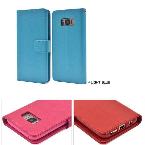 Galaxy S8 SC-02J/SCV36 ギャラクシー S8 ケース  Galaxy S8 手帳型 手帳ケース スマホカバー スマホケース|ushops|06
