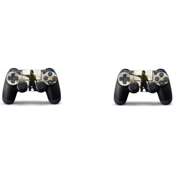 ウォーキングデッド PS4保護ステッカー 本体&コントローラー対応|usj-mens|04