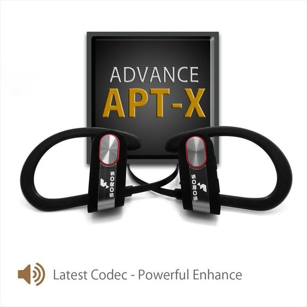 SOROS Bluetooth4.1+EDR ステレオイヤホンマイク 防汗仕様 速達便配送商品|uskey|02