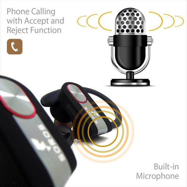 SOROS Bluetooth4.1+EDR ステレオイヤホンマイク 防汗仕様 速達便配送商品|uskey|03