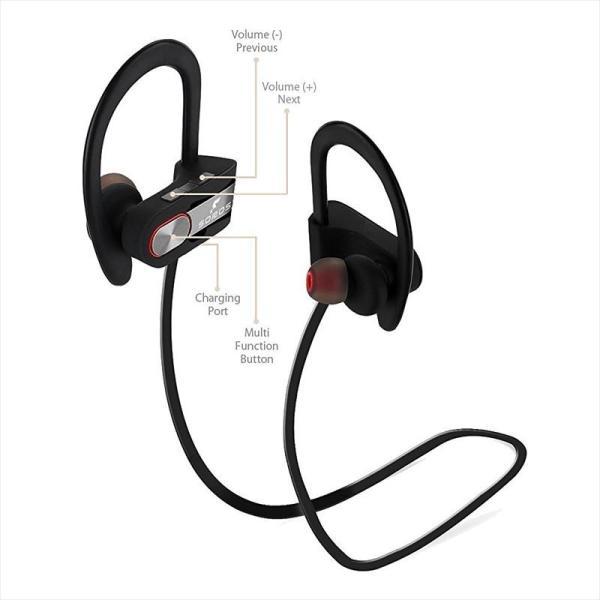 SOROS Bluetooth4.1+EDR ステレオイヤホンマイク 防汗仕様 速達便配送商品|uskey|06