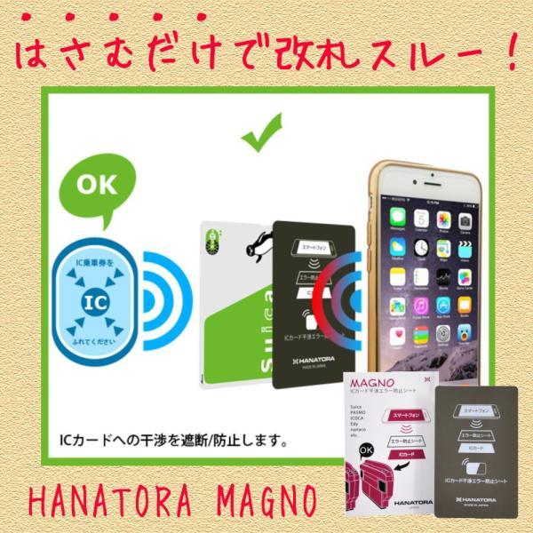HANATORA MAGNO ICカード干渉エラー防止シート|uskey
