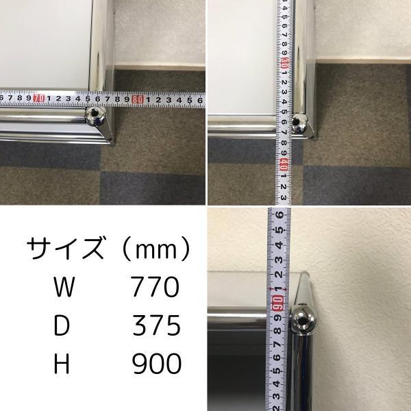 USM Haller ハラーシステム 1列2段キャビネット エクステンションシェルフ×3付 ライトグレー|usm-haller-upcycle-u|11