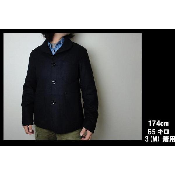 オネット ショールカラー ジャケット Honnete Shawl Collar Jacket|usual|04