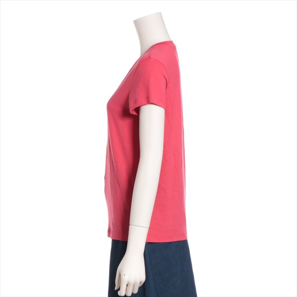 シャネル コットン Tシャツ サイズ34 レディース ピンク P37|usus|02