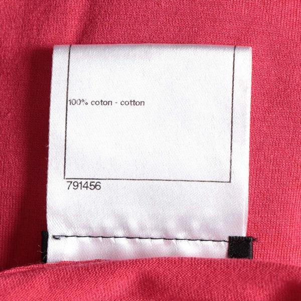 シャネル コットン Tシャツ サイズ34 レディース ピンク P37|usus|06