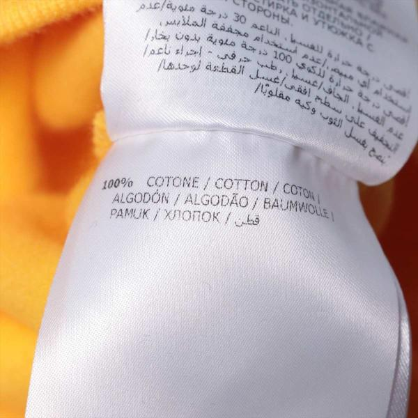 モンクレール コットン スウェット M メンズ レディース ユニセックス イエロー タグ付き スマイル 裏起毛|usus|06