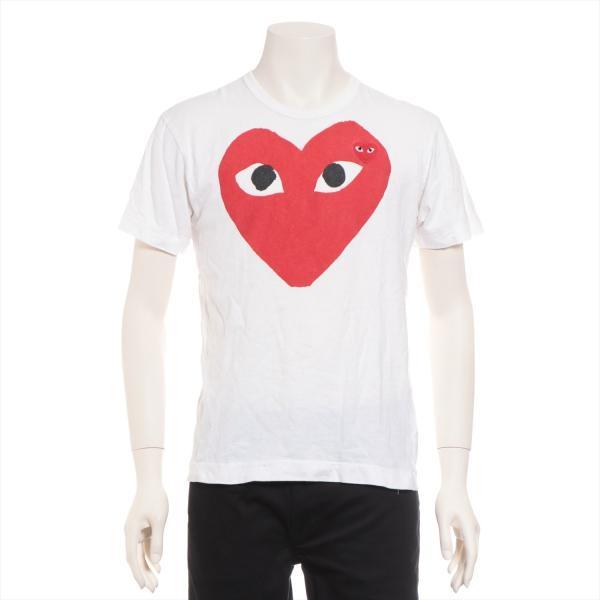 プレイコムデギャルソン コットン Tシャツ M メンズ ホワイト AD2011|usus
