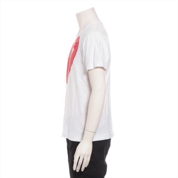 プレイコムデギャルソン コットン Tシャツ M メンズ ホワイト AD2011|usus|02