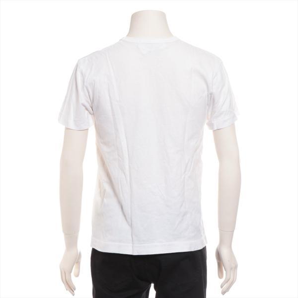 プレイコムデギャルソン コットン Tシャツ M メンズ ホワイト AD2011|usus|03
