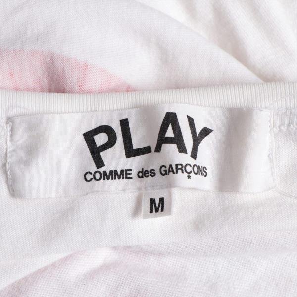 プレイコムデギャルソン コットン Tシャツ M メンズ ホワイト AD2011|usus|05